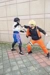 Cosplayers of Sasuke Uchiha and Naruto Uzumaki at CWT39 20150228a.jpg