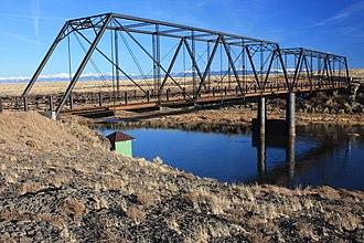 National Register of Historic Places listings in Conejos County, Colorado - Image: Costilla Crossing Bridge, Colo