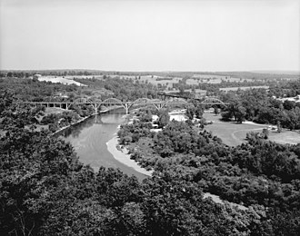 Cotter, Arkansas - The Cotter Bridge was critical in the development of The Ozarks.