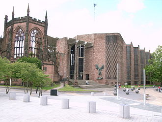 Arthur Bliss - Coventry Cathedral for which Bliss composed The Beatitudes