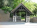 Cowley, Church of St Laurence, The lych gate - geograph.org.uk - 801310.jpg