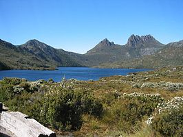 Cradle Mountain, Tasmania, Australia, February 2004.jpg