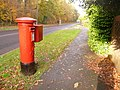 Creekmoor, postbox No. BH17 198, Longmeadow Lane - geograph.org.uk - 1582063.jpg