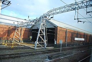 Crewe Carriage Sidings