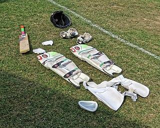 Cricket clothing and equipment bat