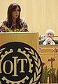 Cristina Fernández diserta en la asamblea de la OIT.jpg