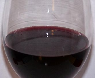 Acids in wine - A wine with high pH and low acidity like Carménère (pictured) will have more bluish color notes than a wine with high acidity.