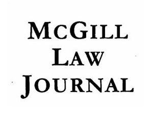 McGill Law Journal - Image: Cropped MLJ Logo