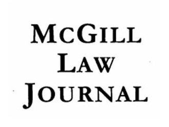 McGill Law Journal - Image: Cropped MLJ Logo