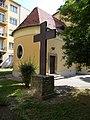 Cross and Saint Florian Church, 2019 Víziváros.jpg