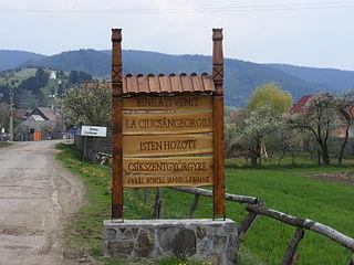 Ciucsângeorgiu Commune in Harghita County, Romania