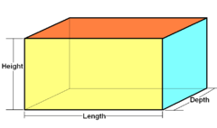 Rectangular cuboid