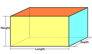 Hyperrectangle - Rectangular cuboid