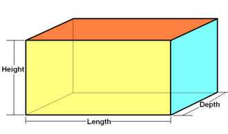 Hyperrectangle - Rectangular cuboid