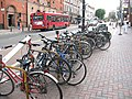 Cycle stands outside Clapham Junction station - geograph.org.uk - 1945462.jpg