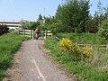 Cycleway at Malpas - geograph.org.uk - 816680.jpg