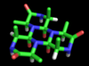 The alanine molecule proposed by Dorothy Wrinch