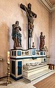 Dülmen, Kreuzkapelle, Kreuzigungsgruppe -- 2021 -- 7109.jpg