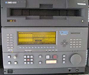 D6 HDTV VTR - D6 VTR tape deck