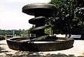 DE Berlin Wedding Volkspark.Rehberge Rathenau.Brunnen Vor.der.Einweihung 1987.jpg