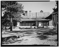 DISTANT VIEW OF WEST SIDE, SHOWER ROOMS - Bryce Canyon Lodge, Bryce Canyon, Garfield County, UT HABS UTAH,9-BRYCA,1-7.tif