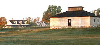 National Register of Historic Places listings in Goshen County, Wyoming - Image: DSCN5227 fortlaramiegrounds e