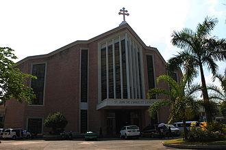 Dagupan - Image: Dagupan Church facade