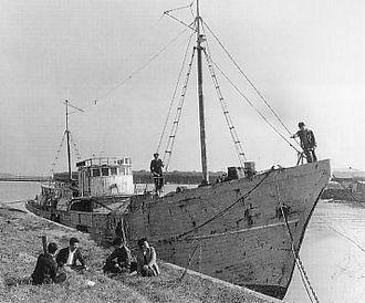 Daigo Fukuryū Maru - Daigo Fukuryū Maru in early 1950s, shortly before the incident