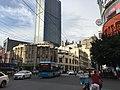 Danan Lu in Guangzhou with Guangzhou bus route 104.jpg
