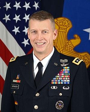 Daniel R. Hokanson - Hokanson in 2016 as a lieutenant general and vice chief of the National Guard Bureau