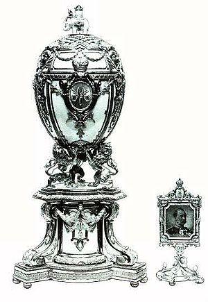 Royal Danish (Fabergé egg) - The Royal Danish egg.