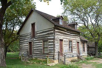 Old Cowtown Museum - Image: Darius Sales Munger House in Cowtown Wichita, KS