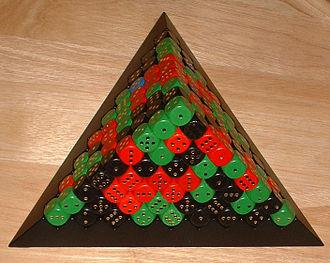 The Game (dice game) - Image: Das Spiel 1