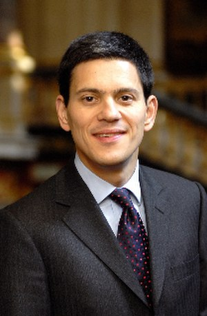 Labour Party (UK) leadership election, 2010 - Image: David Miliband 2