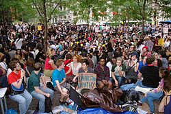 Day 14 Occupy Wall Street September 30 2011 Shankbone.JPG