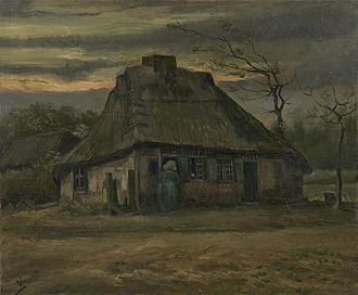 Houses at Auvers - F83: The Cottage, Van Gogh Museum