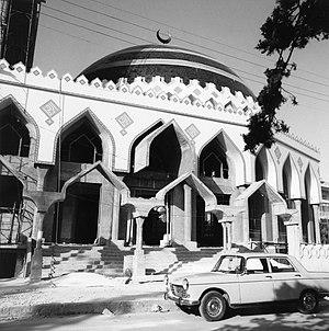 Ar-Rahman Mosque - Image: De moskee Ar Rahman in aanbouw Stichting Nationaal Museum van Wereldculturen TM 20011817
