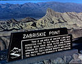 Death Valley,19820817,Zabriskie Point,sign.jpg
