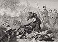 Death of General Isaac Stevens (1818-62) during the attack on Chantilly, Viriginia 1862.jpg
