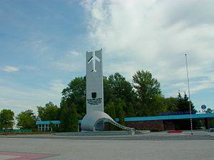 Dęblin - Statue of Heroic Aviators