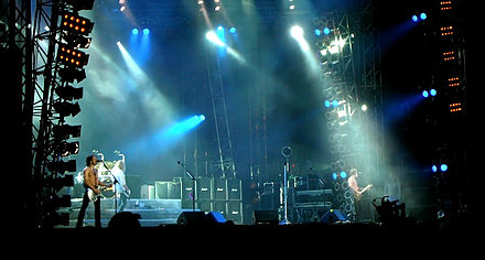 Def Leppard at the 2008 Sweden Rock Festival Def Leppard Sweden Rock 2008.jpg