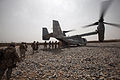 Defense.gov News Photo 100522-M-7069A-019 - U.S. Marines, sailors and civilians upload onto an MV-22 Osprey aircraft at Forward Operating Base Sher Wali, Afghanistan, on May 22, 2010.jpg