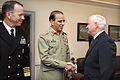 Defense.gov News Photo 101020-D-9880W-003 - Secretary of Defense Robert M. Gates right welcomes Chief of the Pakistani Army Staff Gen. Ashfaq Kayani to his Pentagon office for security.jpg