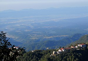 Landour - A view of the valley from Landour, Uttarakhand