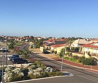 Currambine, Western Australia - Image: Delamere Av