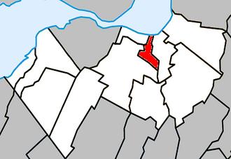 Delson, Quebec - Image: Delson Quebec location diagram