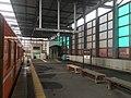 Dentetsu Izumoshi Station platform 2020 March 14 various.jpeg
