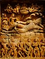 Deogarh Dasavatara-Tempel Vishnu (1999).jpg