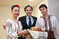 Deputy Secretary Blinken is Welcomed to the Embassy Chisinau Community With Bread, Salt, and a Martisor (16085689683).jpg