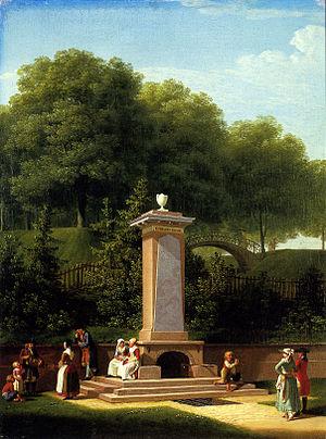 Emiliekilde - Emiliekilde painted by Jens Juel